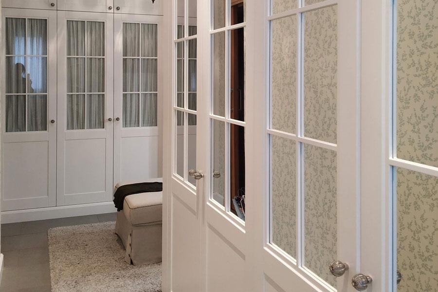 Mural de armarios con cristal-espejo