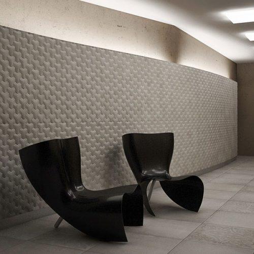 Revestimiento en pared interior